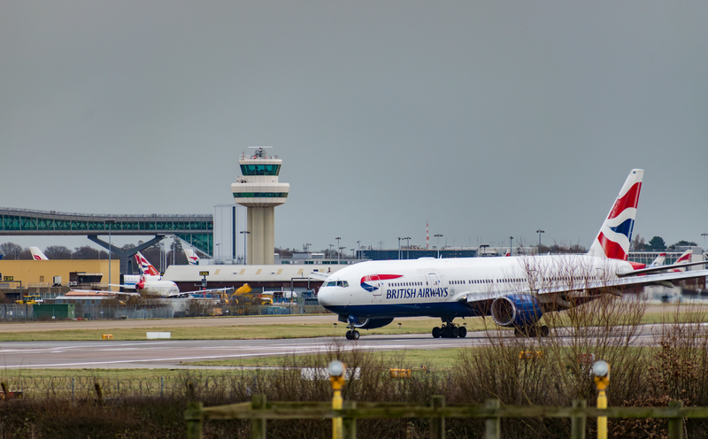 LGW Airport is the second busiest airport in the UK.