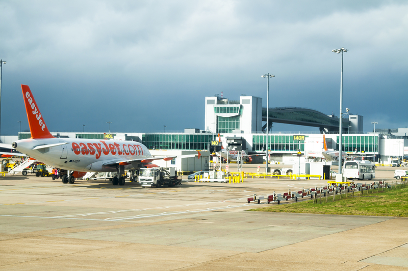 Gatwick Airport is one of the biggest low-cost airports in the world.